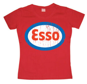 Esso Distressed Girly T-shirt